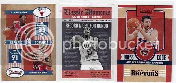 2010-11 Panini Classics Basketball Insert Cards