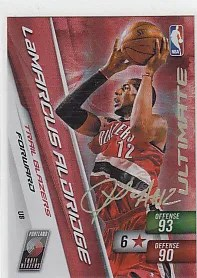 LaMarcus Aldridge Adrenalyn Ultimate Signature Card