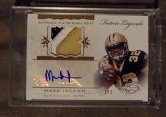 2011 Topps Legends Mark Ingram 1/1 Autograph