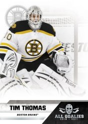 2010-11 Tim Thomas Panini All-Goalies Base