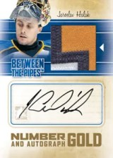 2010/11 ITG Between The Pipes Jaroslav Halak Jersey Patch and Autograph Card