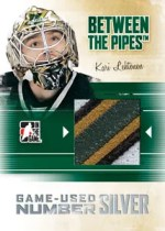 2010/11 ITG Between The Pipes Game Used Number Patch
