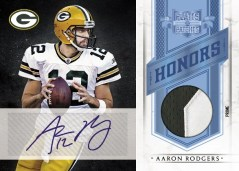 2011 Panini Plates & Patches Aaron Rodgers Honors Auto