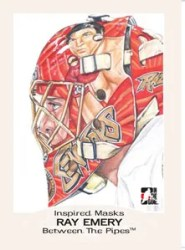 2010/11 ITG Between The Pipes Inspired Mask Insert Card