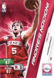 Andres Nocioni Free Adrenalyn Codes NBA