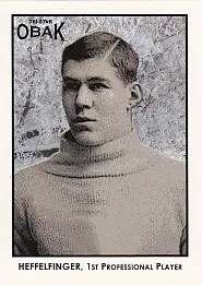 2011 Tristar Obak William Heffelfinger Football Card
