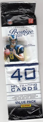 2011 Panini Prestige Football Value Pack