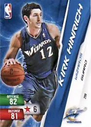 2010-11 Adrenalyn NBA 2 Kirk Hinrich