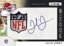 2011 Rookies & Stars Julio Jones NFL Shield Auto RC