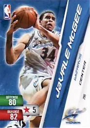 2010-11 NBA Adrenalyn 2 JaValle McGee Code