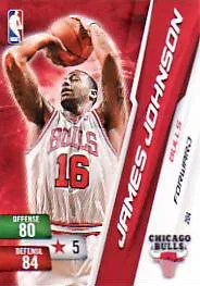 2010-11 Adrenalyn James Johnson Free NBA 2 Adrenalyn Code