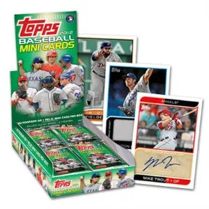 2012 Topps Baseball Mini Cards