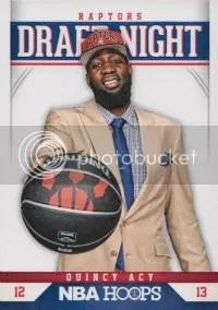 2012/13 Panini Hoops NBA Draft Night Insert #19 Quincy Acy