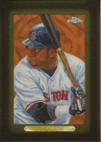 2008 Topps Chrome David Ortiz Dick Perez Insert Card