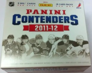 2011-12 Playoff Contenders Hockey Hobby Box