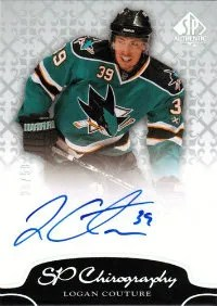 2011-12 Upper Deck SP Authentic Chirography #C-LC Logan Couture