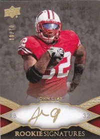 2011 Upper Deck Exquisite John Clay Autograph RC Card