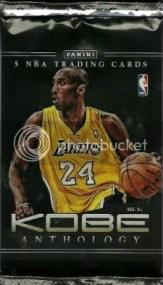 2012-13 Panini Kobe Bryant Anthology Pack
