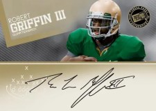 2012 Press Pass Robert Griffin III Autograph