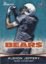 2012 Bowman Alshon Jeffery SP Variation RC