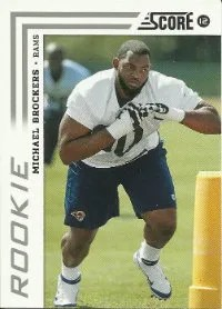 2012 Michael Brockers Score Rookie Card