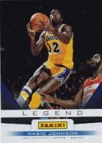 2012 Panini Father's Day Magic Johnson Legends Card