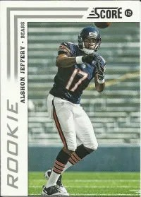 2012 Score Alshon Jeffery SP Photo Variation RC