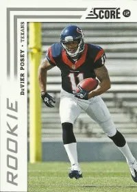 2012 Score DeVier Posey Rookie Card
