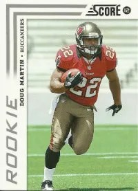 2012 Score Doug Martin Rookie Card
