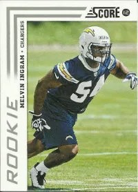 2012 Score Melvin Ingram SP Rookie Card