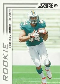2012 Score Michael Egnew Rookie Card