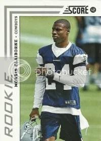2012 Score Morris Claiborne Rookie Card