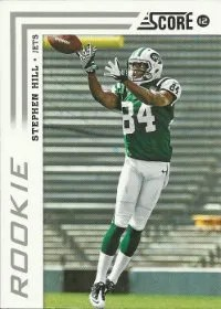 2012 Score Stephen Hill Photo Variation SP RC