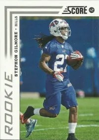 2012 Score Stephon Gilmore Rookie Card