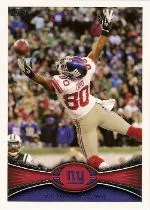 2012 Topps #430 Victor Cruz Photo Variation