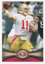 2012 Topps Alex Smith Base Card #52