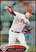 2012Topps Chrome Roy Halladay Base Card
