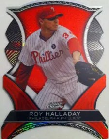 2012 Topps Chrome Roy Halladay Dynamic Die Cut