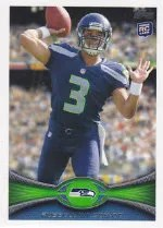 2012 Topps Russell Wilson Rookie #165