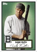 2012 Topps National Convention Babe Ruth