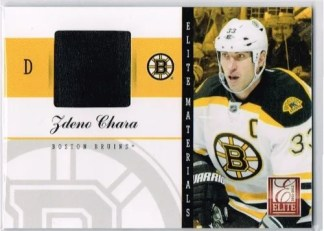 2011-12 Donruss Elite Materials #31 Zdeno Chara