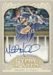 2012 Topps Gypsy Queen Mitch Moreland Autograph