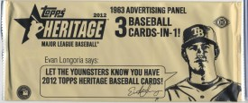 2012 Topps Heritage Advertising Panel