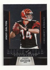 2011 Panini Contenders Andy Dalton Rookie of the Year