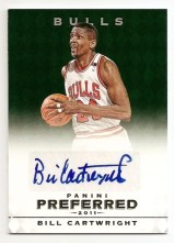 2011-12 Panini Preferred Signatures Bill Cartwright Emerald #/5