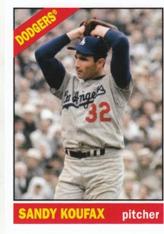 2012 Topps Archives Sandy Koufax SP Card #210