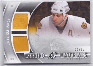 2011-12 Upper Deck SPx Winning Materials Cam Neely Patch Card