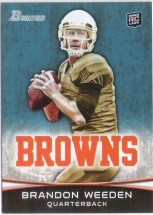 2012 Bowman Brandon Weeden RC