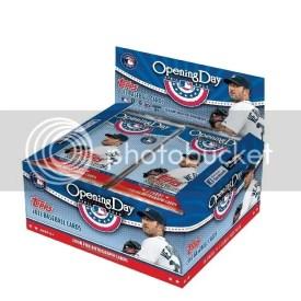 2012 Topps Opening Day Hobby Box