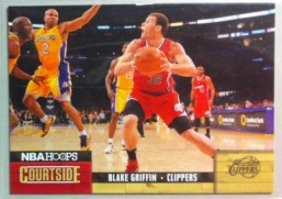 2011-12 Panini Hoops Blake Griffin Courtside Insert Card